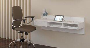Rašomasis stalas Uno, baltas kaina ir informacija | Kompiuteriniai, rašomieji stalai | pigu.lt