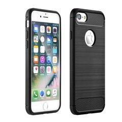 Nugarėlė Huawei P30 Carbon Case Black kaina ir informacija | Telefono dėklai | pigu.lt