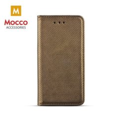 Mocco Smart Magnet Book Case For Samsung J415 Galaxy J4 Plus (2018) Dark Gold kaina ir informacija | Telefono dėklai | pigu.lt