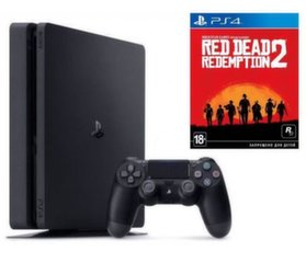 Sony Playstation 4 (PS4) Slim 1TB + Red Dead Redemtion 2