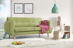Trivietė sofa BoboChic Viking, žalia kaina ir informacija | Sofos, foteliai ir minkšti kampai | pigu.lt