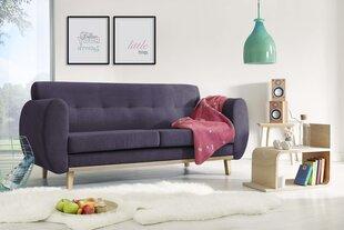 Trivietė sofa BoboChic Viking, violetinė kaina ir informacija | Sofos, foteliai ir minkšti kampai | pigu.lt