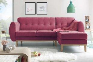 Minkštas kampas BoboChic Viking, raudonas kaina ir informacija | Sofos, foteliai ir minkšti kampai | pigu.lt