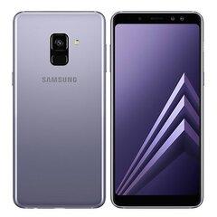 Samsung Galaxy A8 (2018) A530, Single SIM, Pilka kaina ir informacija | Mobilieji telefonai | pigu.lt
