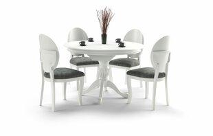 Stalas Halmar William, baltas kaina ir informacija | Virtuvės ir valgomojo stalai, staliukai | pigu.lt