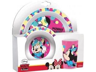 Disney vaikiškų indų rinkinys Minnie, 3 dalių kaina ir informacija | Disney vaikiškų indų rinkinys Minnie, 3 dalių | pigu.lt