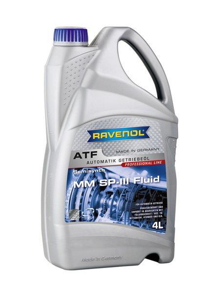 Transmisinė alyva RAVENOL MM SP-III Fluid 4L Hyundai / Kia / Mitsubishi