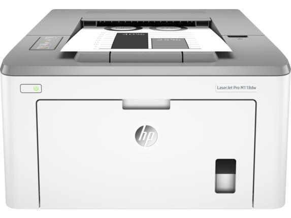 HP LaserJet Pro M118dw, nespalvotas