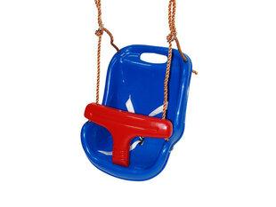 Plastikinės vaikiškos sūpynės (mėlynos su raudonu) 4IQ kaina ir informacija | Sūpynės | pigu.lt