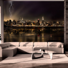 Fototapetas - Storm in New York City kaina ir informacija | Fototapetai | pigu.lt