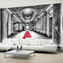 Fototapetas - Mystery marble - black and white kaina ir informacija | Fototapetai | pigu.lt