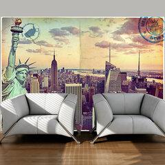 Fototapetas - Postcard from New York kaina ir informacija | Fototapetai | pigu.lt