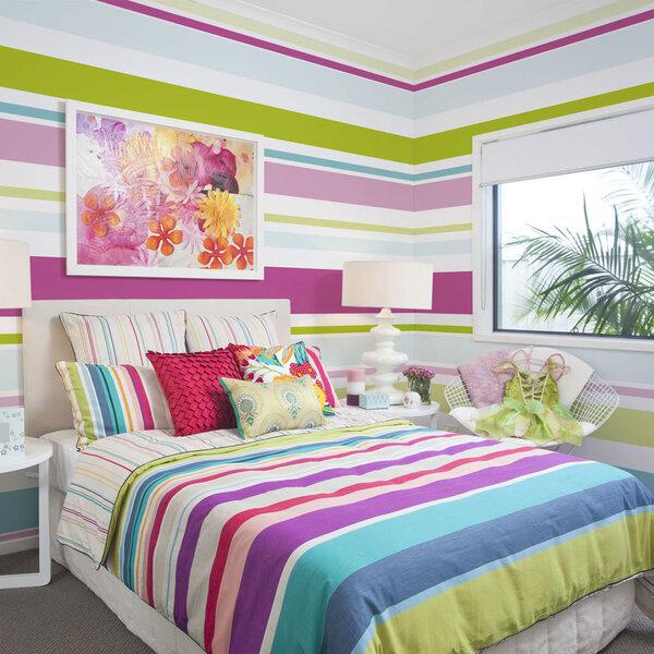 Fototapetas - Bright stripes