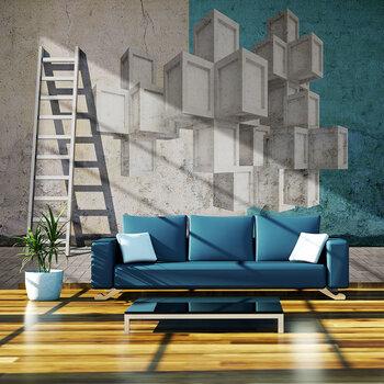 Fototapetas - Concrete blocks kaina ir informacija | Fototapetai | pigu.lt