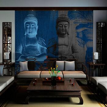 Fototapetas - Three incarnations of Buddha kaina ir informacija | Fototapetai | pigu.lt