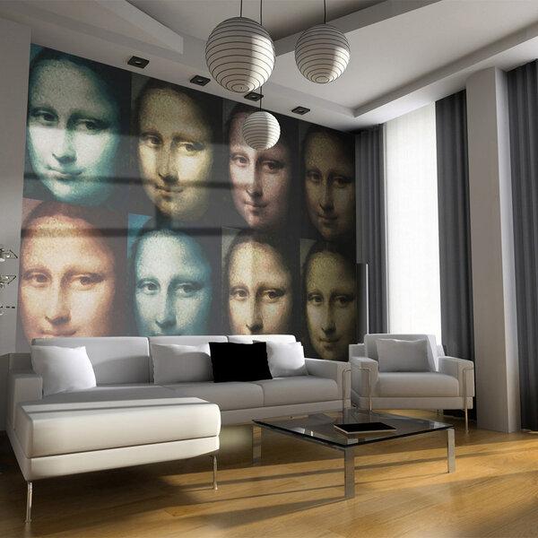 Fototapetas - Mona Lisa (pop art)
