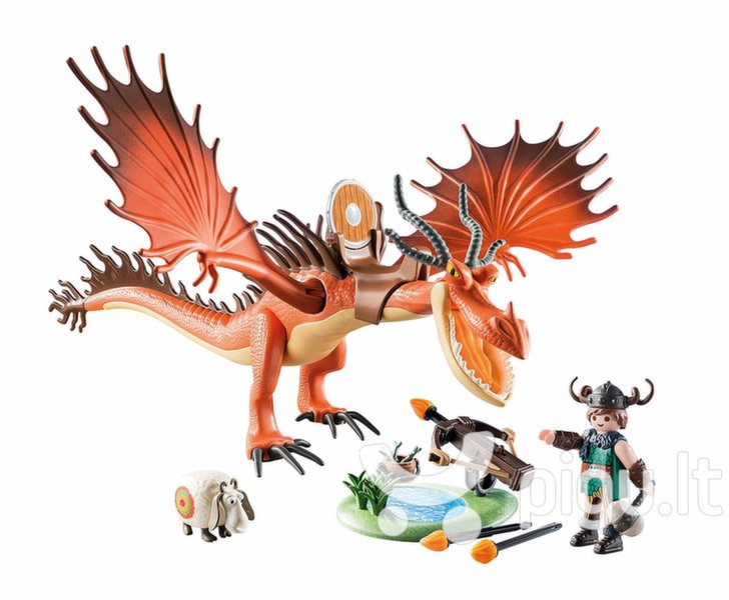 9459 PLAYMOBIL® Dragon, Snargliautas su drakonu kaina