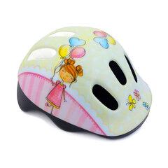 """Vaikiškas dviratininko šalmas Spokey """"Balloon"""", rožinis"""