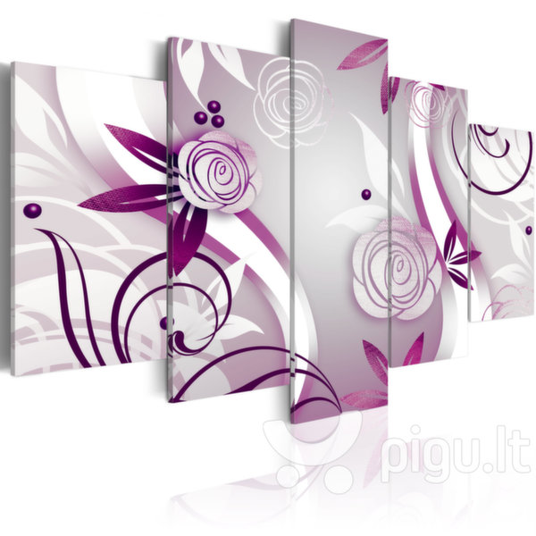 Paveikslas - Violet roses