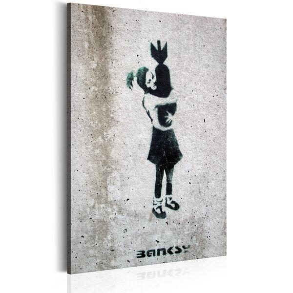 Paveikslas - Bomb Hugger by Banksy