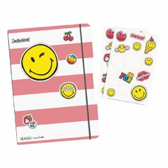 Sąsiuvinis flex A5/ 40 Smiley Girly kaina ir informacija | Sąsiuviniai ir popieriaus prekės | pigu.lt