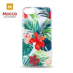 Mocco Spring Case Silicone Back Case for Apple iPhone XR (Red Lilly) kaina ir informacija | Telefono dėklai | pigu.lt