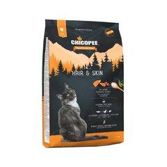 Chicopee grynaveislėms katėms su lašiša Hair and Skin, 8 kg
