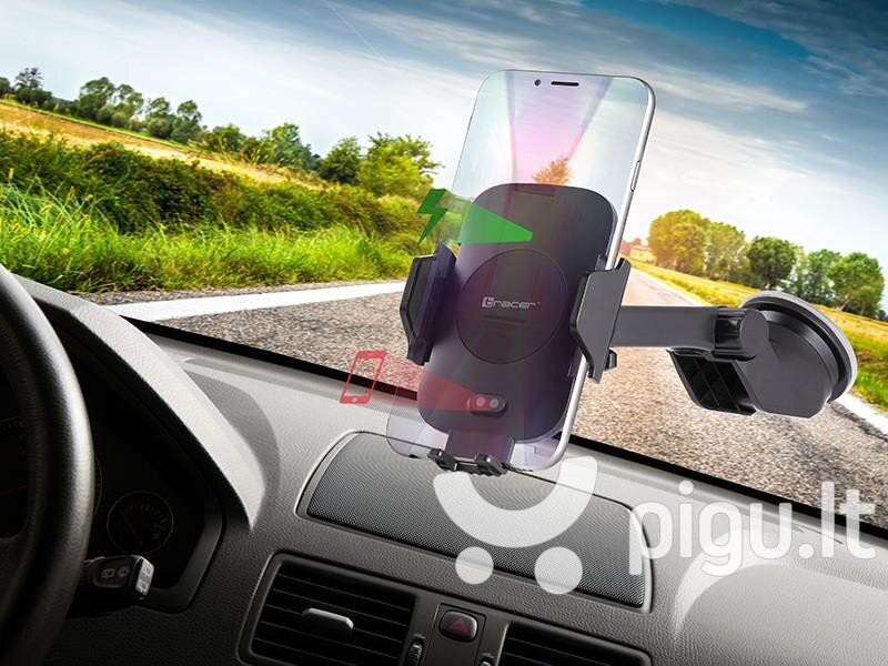 Tracer Wireless Charger + Automatic Car Mount 10W