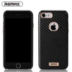 Товар с повреждённой упаковкой. Чехол - крышка Remax Carbon для Apple iPhone 7 Plus Черный