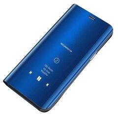 Hurtel Clear View Case, skirtas Samsung Galaxy A70, mėlynas kaina ir informacija | Telefono dėklai | pigu.lt