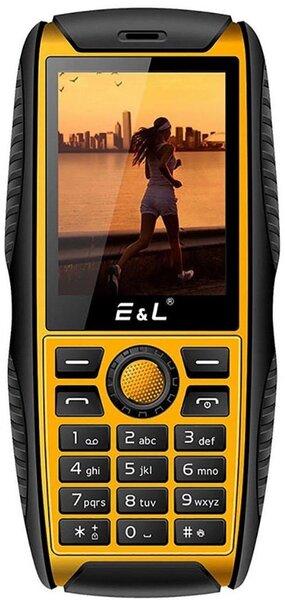 E&L S200, Black-Yellow kaina