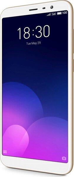 Meizu M6T, Dual SIM 3/32 GB, Auksinė