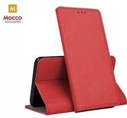Mocco Smart Magnet Book Case For LG Q7 / Q7a / Q7 Plus Red kaina ir informacija | Telefono dėklai | pigu.lt