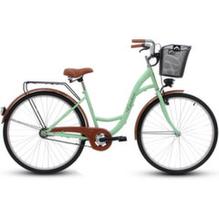 """Prekė su pažeista pakuote. Moteriškas miesto dviratis Goetze Eco 28"""", metų/rudas"""
