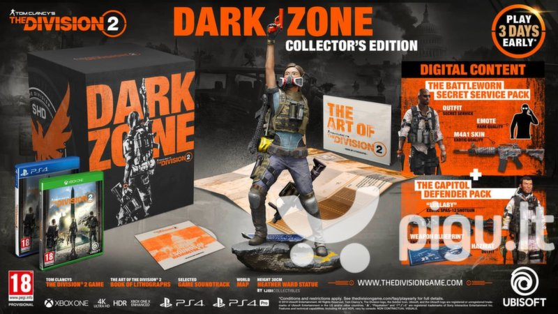 Xbox One Tom Clancy's The Division 2 Dark Zone Collector's Edition