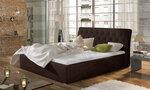 Кровать Milano MD, 180x200 см, коричневая