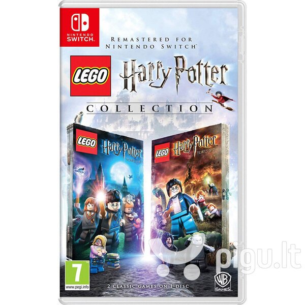 Lego Harry Potter Collection, Nintendo Switch
