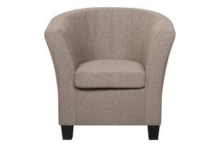 Fotelis Johan, šviesiai rudas kaina ir informacija | Svetainės foteliai | pigu.lt