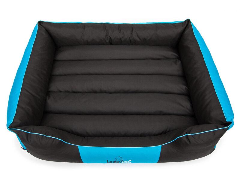 Hobbydog guolis Comfort L, juodas/mėlynas internetu