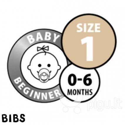 Čiulptukai BIBS 2 vnt. Sky Blue/ Dark Teal 0-6 mėn.