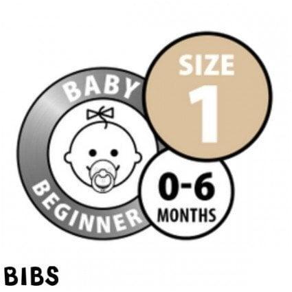 Čiulptukai BIBS 2 vnt. Baby Pink/ Ivory 0-6 mėn.