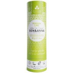 Pieštukinis dezodorantas popierinėje pakuotėje Ben&Anna Persian Lime, 60 g kaina ir informacija | Pieštukinis dezodorantas popierinėje pakuotėje Ben&Anna Persian Lime, 60 g | pigu.lt
