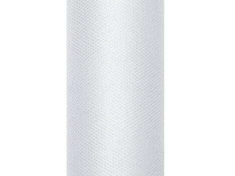 Lygus tiulis ritėje, šviesiai pilkas, 0,8x9 m, 1 dėž/24 vnt (1 vnt/9 m) kaina ir informacija | Dekoracijos šventėms | pigu.lt