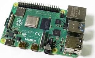 Raspberry Pi 4 model B WiFi DualBand Bluetooth 2GB RAM 1,5GHz цена и информация | Электроника с открытым кодом | pigu.lt
