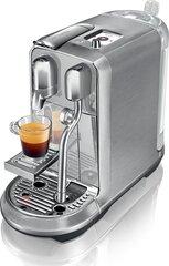 Nespresso Creatista Plus, sidabrinė kaina ir informacija | Kavos aparatai | pigu.lt