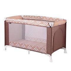 Манеж - кроватка для детей Lorelli Verona, brown&beige lines цена и информация | Манеж - кроватка для детей Lorelli Verona, brown&beige lines | pigu.lt