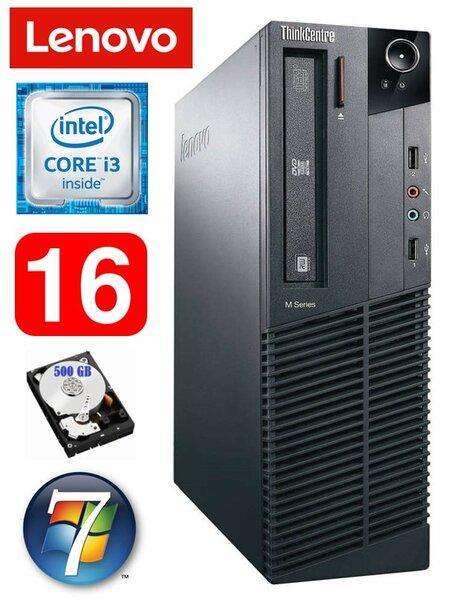 Lenovo ThinkCentre M82 SFF i3-2120 16GB 500GB WIN7Pro