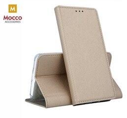 Mocco Smart Magnet Book Case For Xiaomi Redmi K20 / Mi 9T Gold kaina ir informacija | Telefono dėklai | pigu.lt