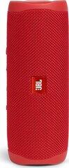 JBL Flip 5, Raudona kaina ir informacija | JBL Flip 5, Raudona | pigu.lt