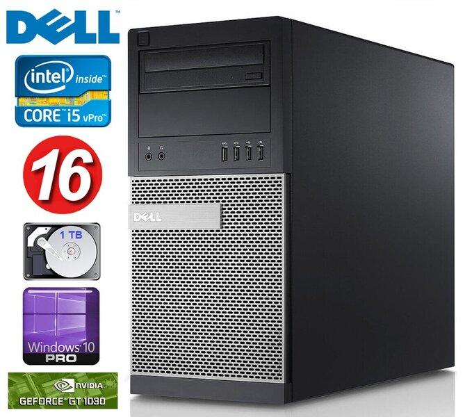 DELL 790 MT i5-2400 16GB 1TB GT1030 2GB DVD WIN10Pro